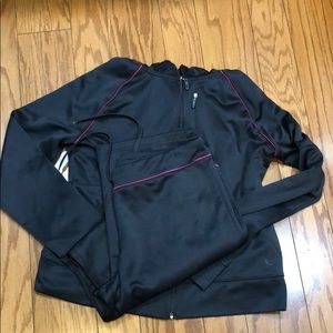 Danskin Now zip up hoodie and pants outfit